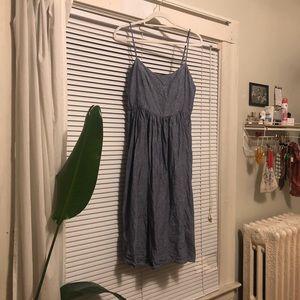 Cynthia rowley linen midi dress - size 12